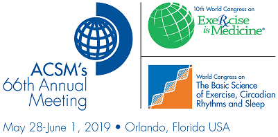 2019 Annual Meeting of the American College of Sports Medicine